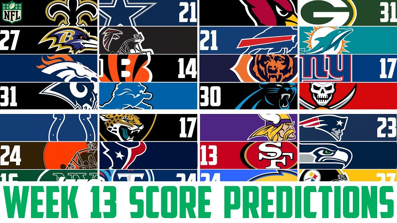 Nfl Week 13 Score Predictions 2018 Nfl Picks In Opposition To The Unfold Week 13 Nfl Betting Sport Reports